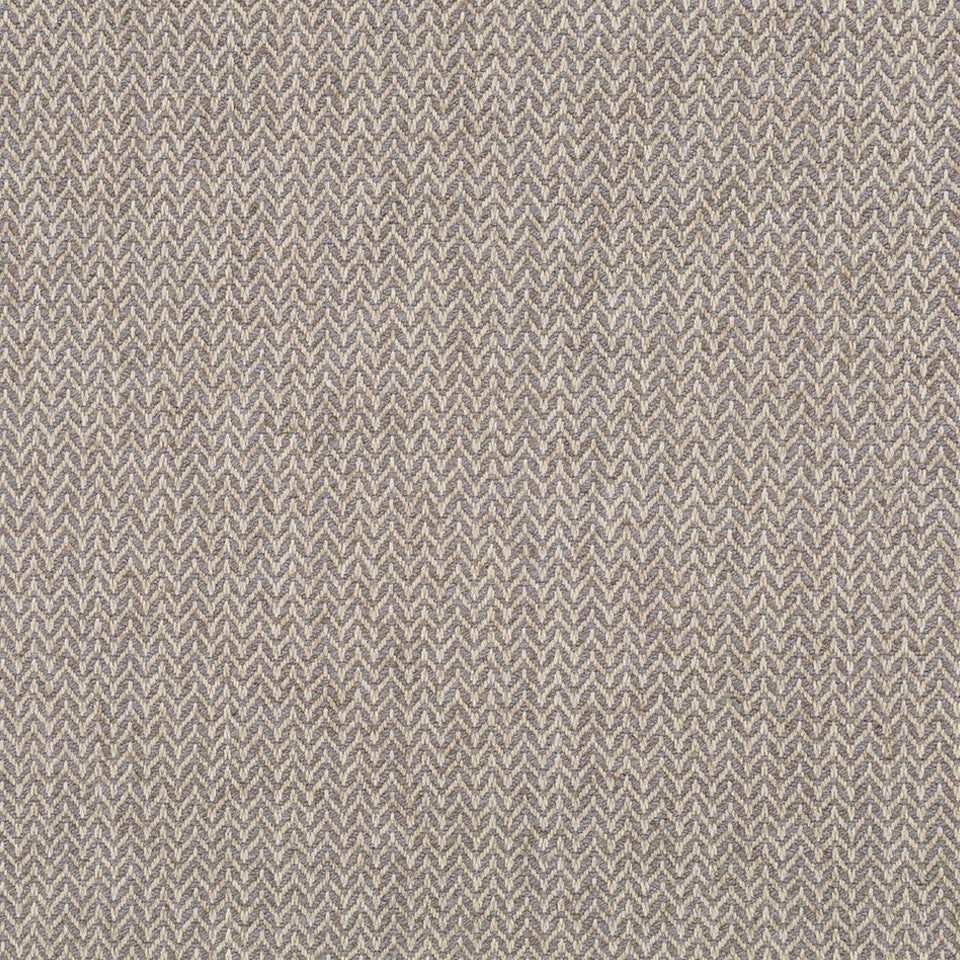 LINEN TEXTURES Flax Chevron Fabric - Pewter