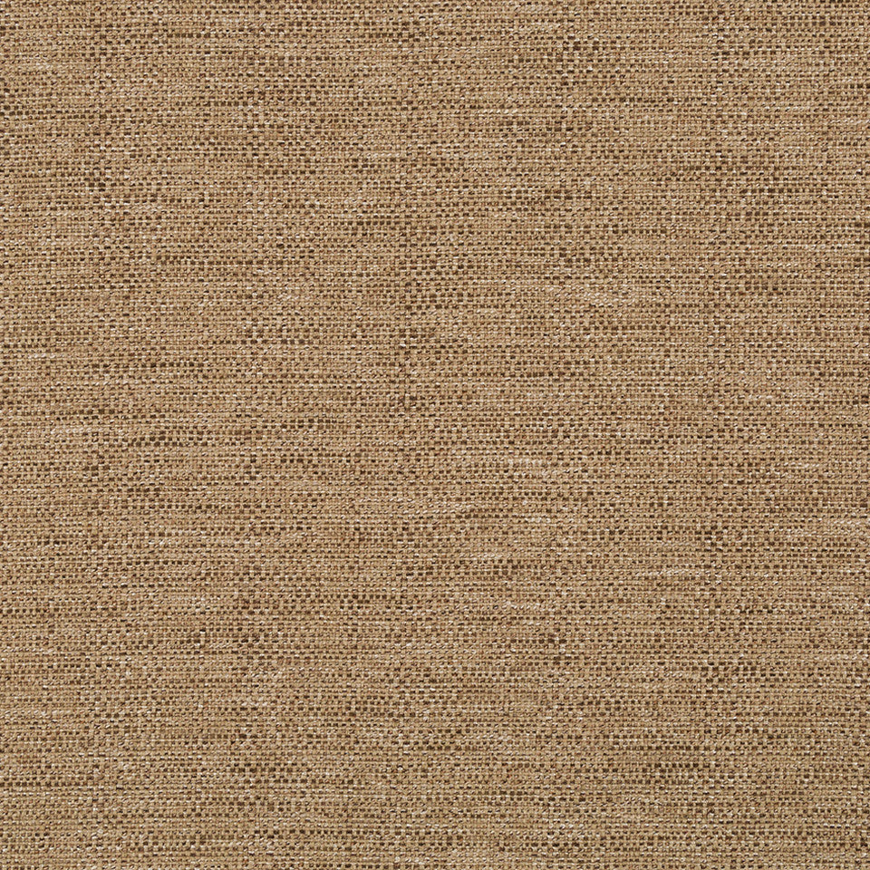 LINEN TEXTURES Strie Basket Fabric - Dark Honey