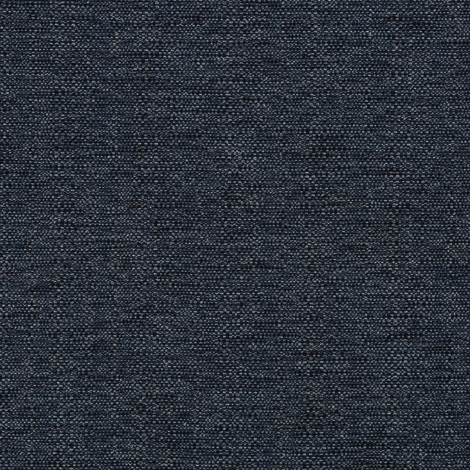 LINEN TEXTURES Strie Basket Fabric - Navy