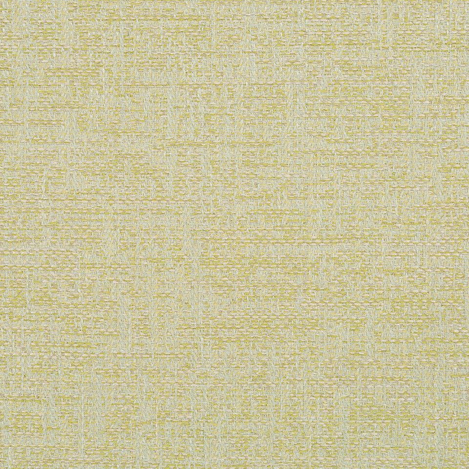 LINEN TEXTURES Flaxen Weave Fabric - Light Green