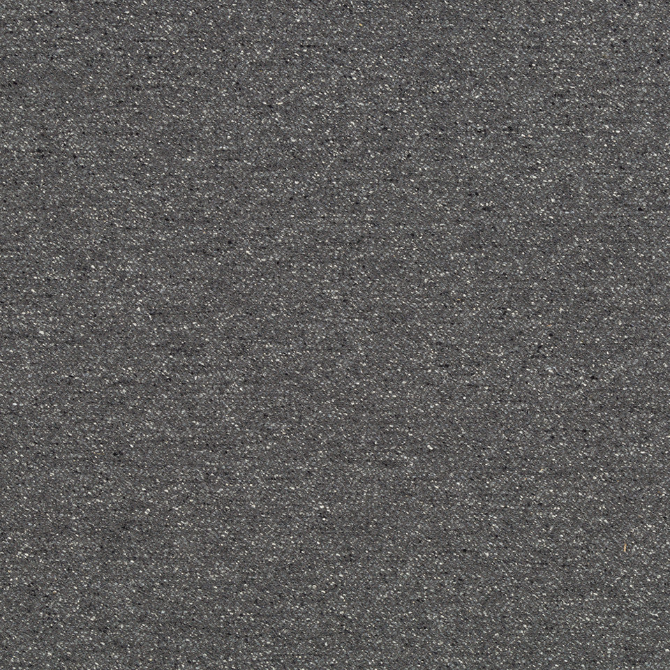 LINEN TEXTURES Marbled Flax Fabric - Coal