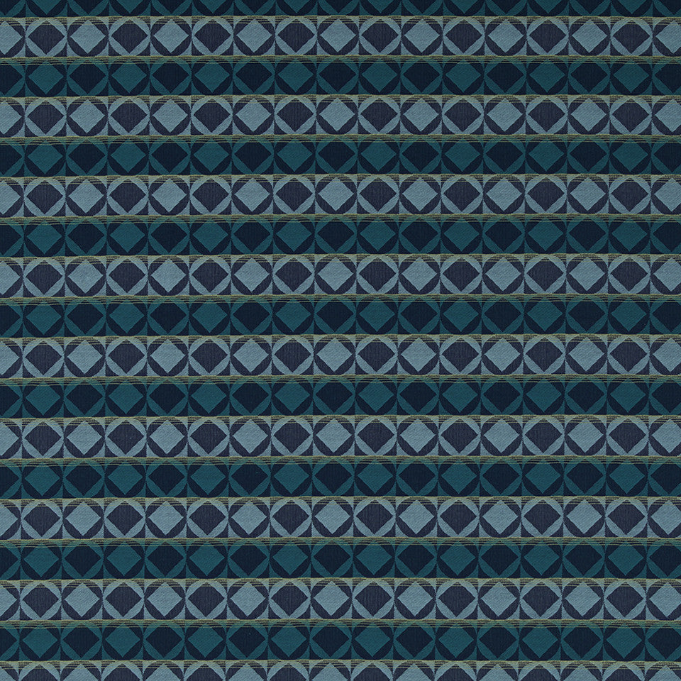 MODERN III Shubelic Fabric - Aquatic