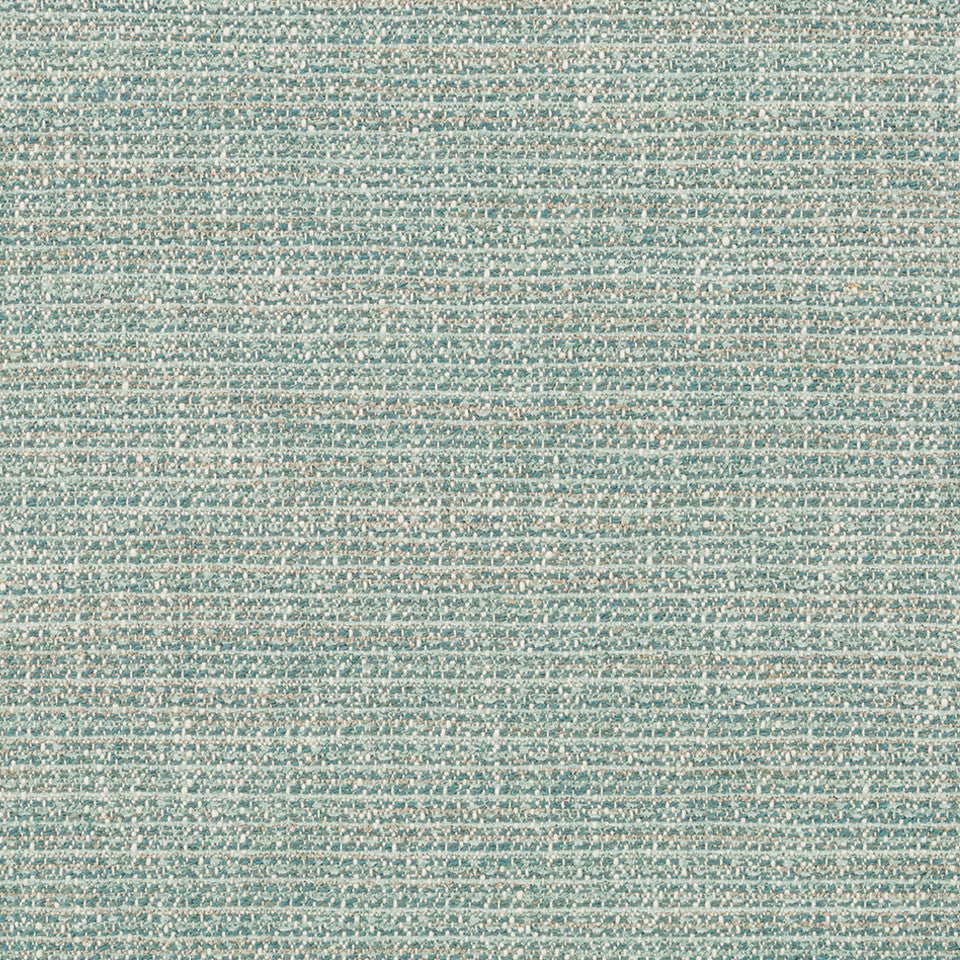 TWEEDY TEXTURES Tweed Chenille Fabric - Sea