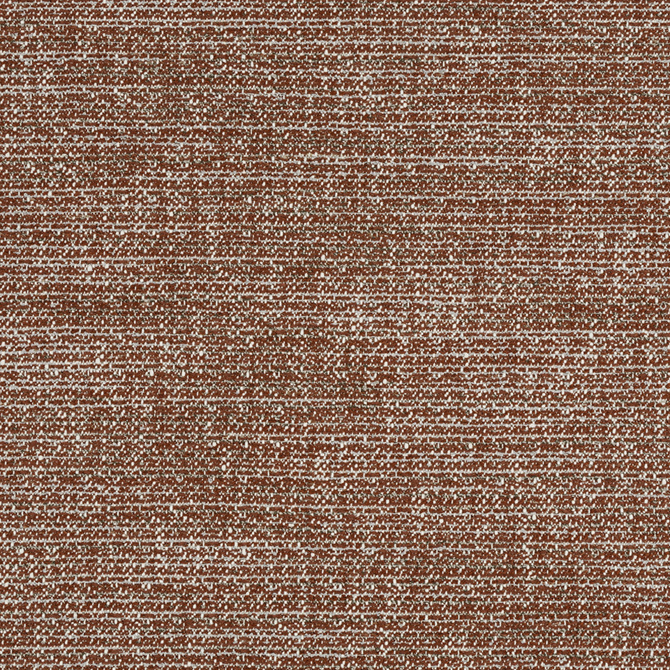 HENNA Tweed Chenille Fabric - Henna