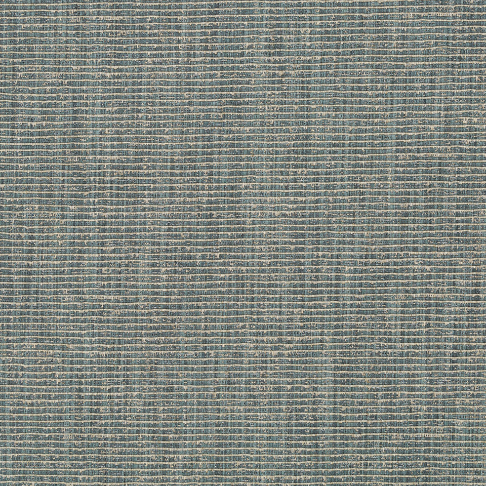 RIBBED TEXTURES Empire City Fabric - Blue Opal