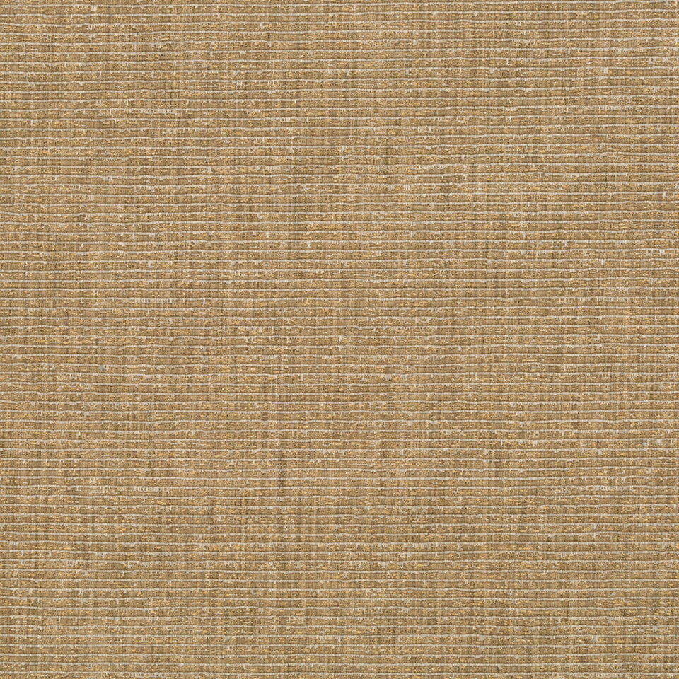 RIBBED TEXTURES Empire City Fabric - Gold Leaf