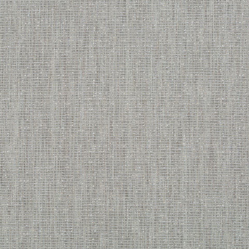 RIBBED TEXTURES Empire City Fabric - Greystone