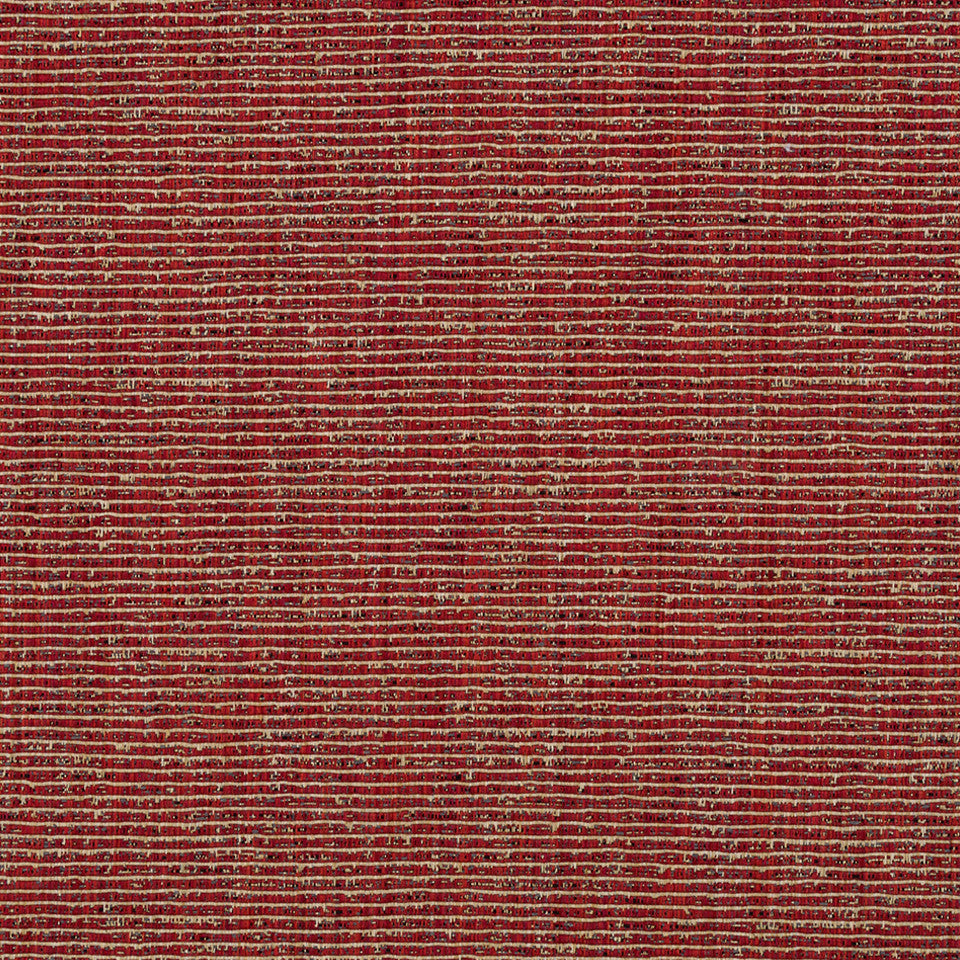 RIBBED TEXTURES Empire City Fabric - Lacquer Red