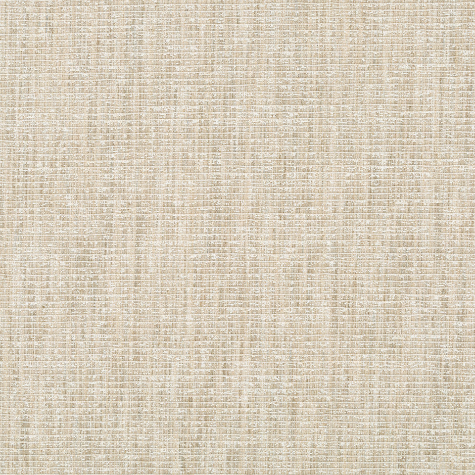 RIBBED TEXTURES Empire City Fabric - Pale Cream