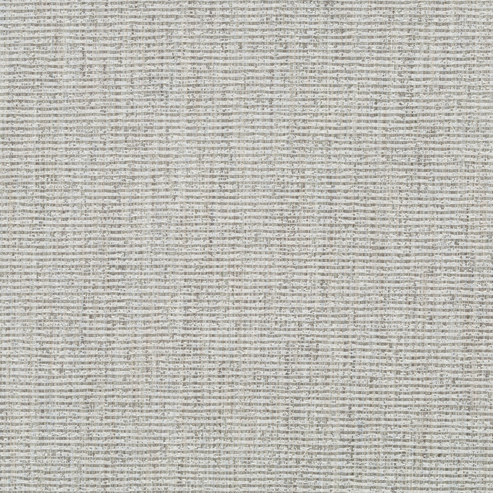 RIBBED TEXTURES Empire City Fabric - Zinc