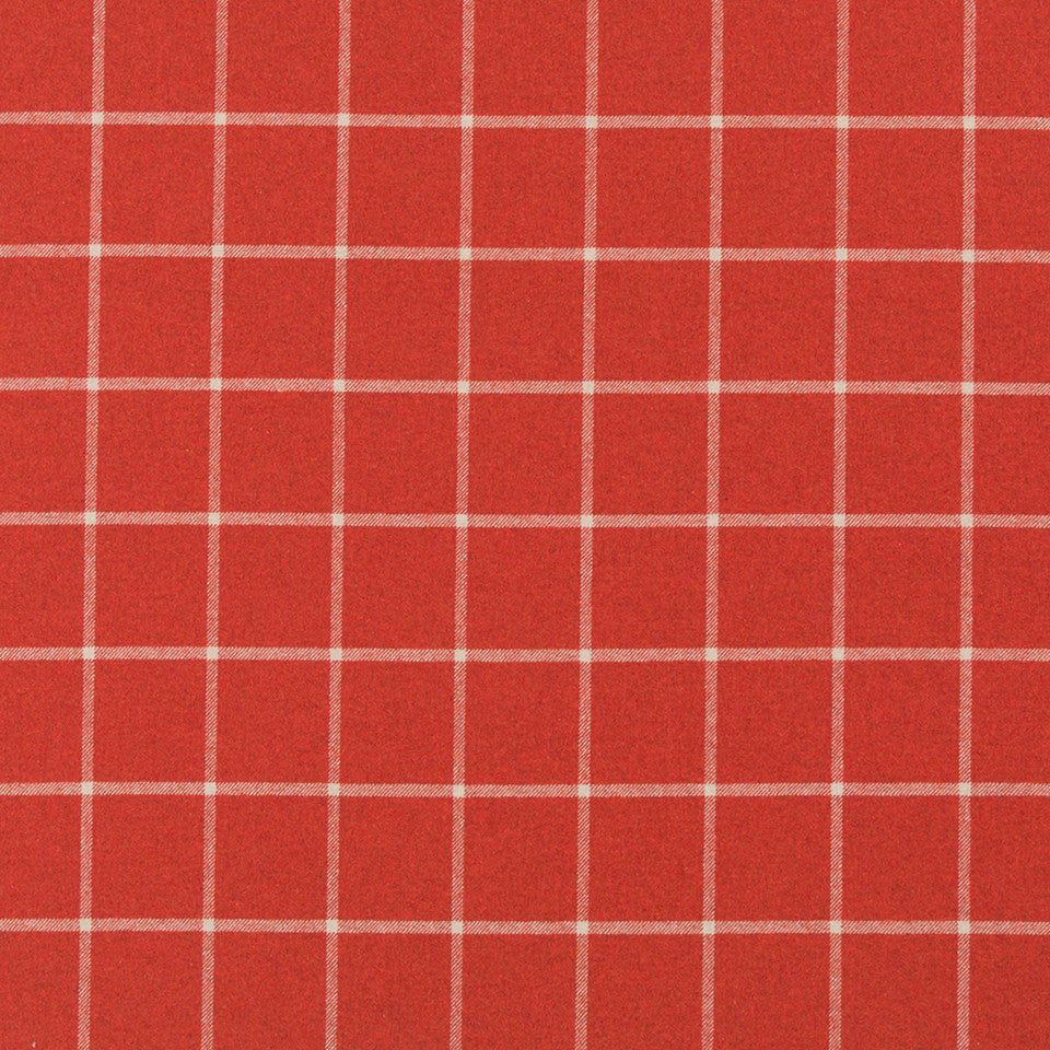 HENNA Helios Plaid Fabric - Henna
