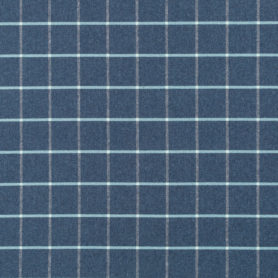 MUSSEL SHELL Helios Plaid Fabric - Mussel Shell