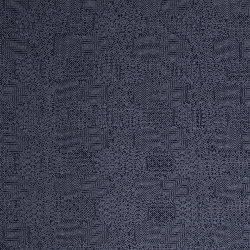 MUSSEL SHELL Stitched Hex Fabric - Mussel Shell