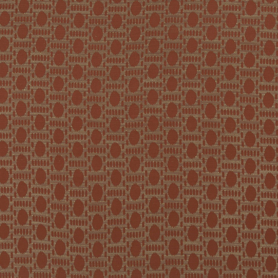 HENNA Rabbit Run Fabric - Henna