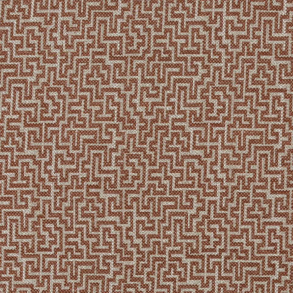 HENNA Lost Path Fabric - Henna