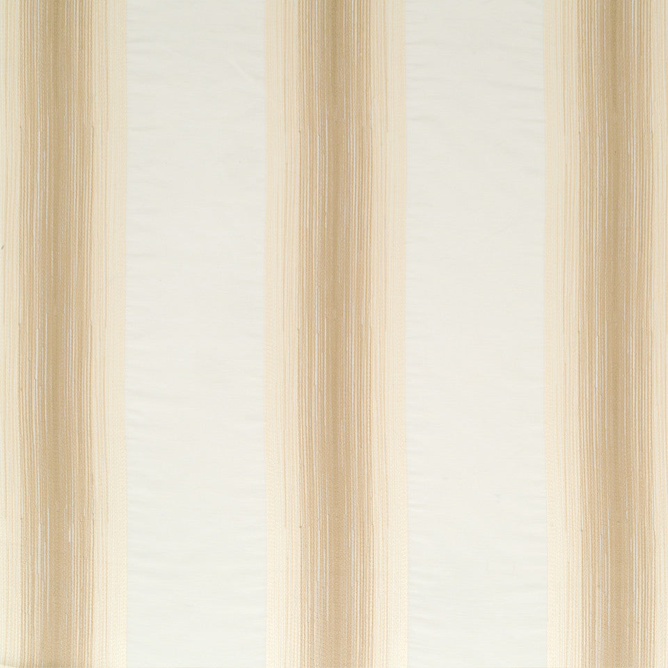 Silk Jacquards And Embroideries V Alma Stripe Fabric - Travertine