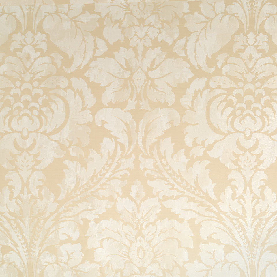 Silk Jacquards And Embroideries V Chambord Frame Fabric - Cream