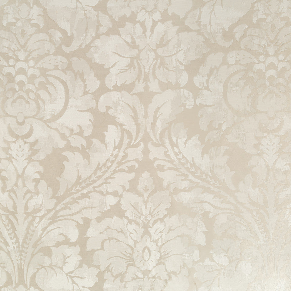Silk Jacquards And Embroideries IV Chambord Frame Fabric - Platinum