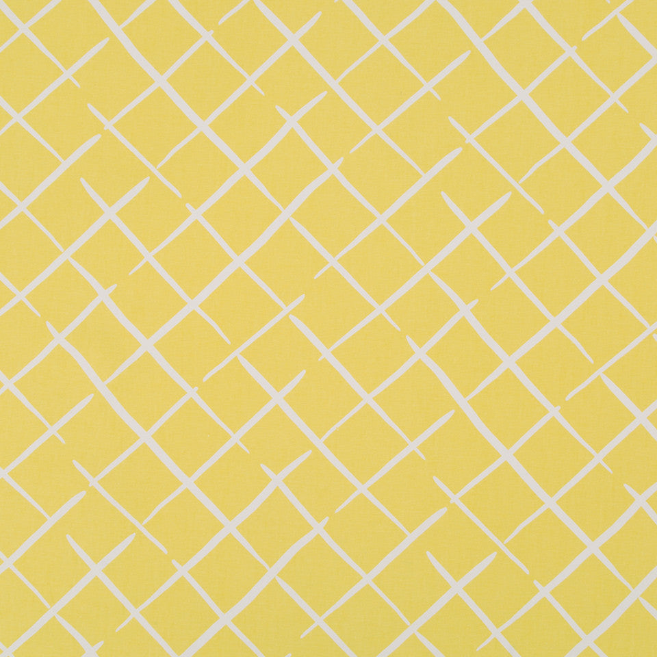 MADCAP COTTAGE INTO THE GARDEN Cove End Fabric - Daffodil