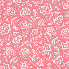 Madcap Cottage Rokeby Road Fabric- Rhubarb Red