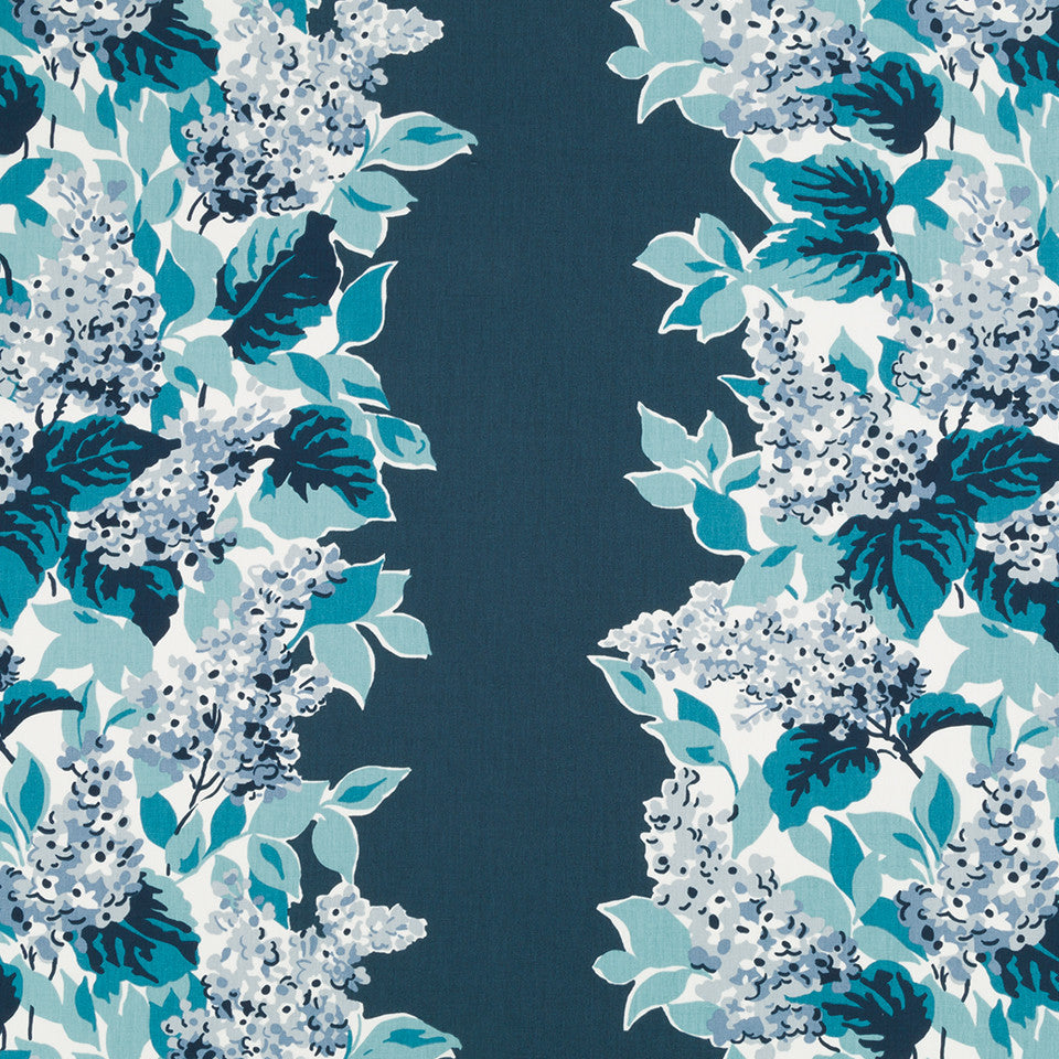 MADCAP COTTAGE INTO THE GARDEN Windy Corner Fabric - Indigo