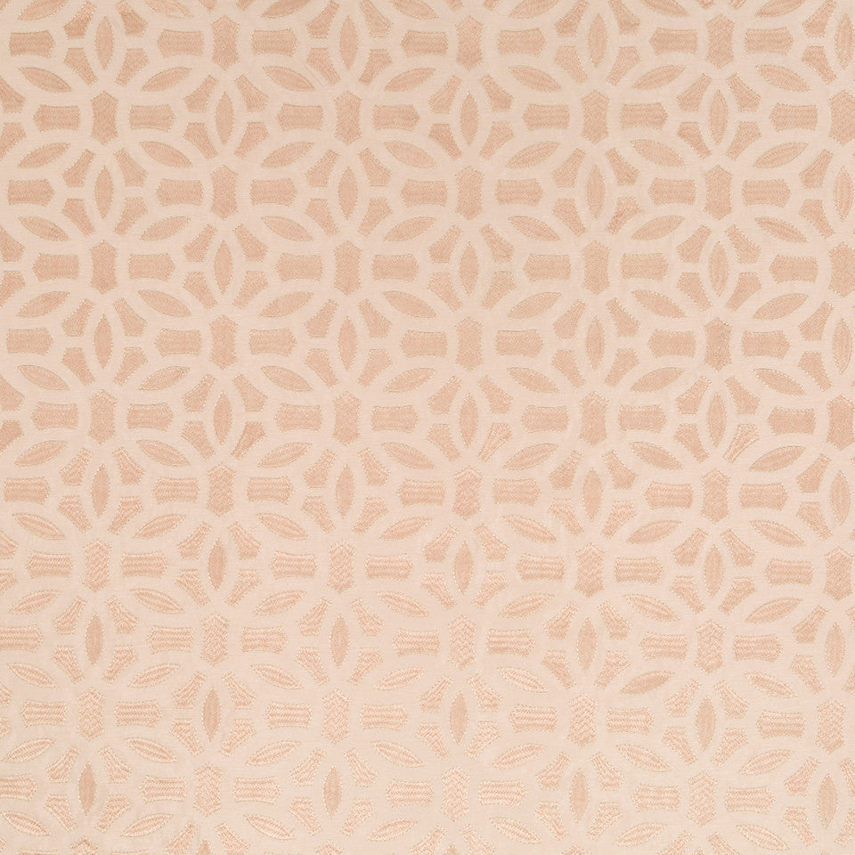 Silk Jacquards And Embroideries V Elham Fabric - Blush