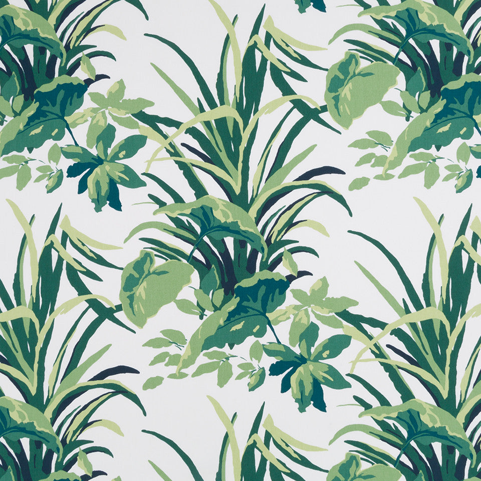 MADCAP COTTAGE INTO THE GARDEN Bermuda Bay Fabric - Palm