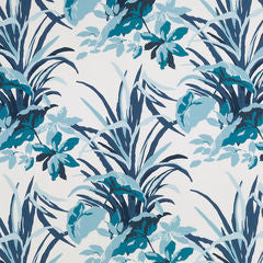 Madcap Cottage Fabric - Bermuda Bay Pool Blue