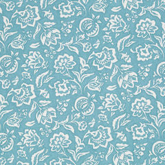 Madcap Cottage Rokeby Road Fabric- Delft Blue