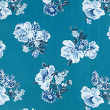 Madcap Cottage Isleboro Eve Fabric - Pool Blue