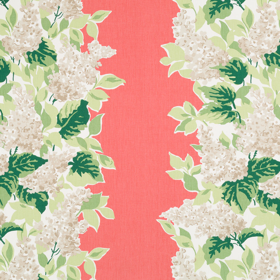 MADCAP COTTAGE INTO THE GARDEN Windy Corner Fabric - Rhubarb