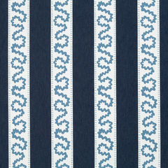 Madcap Cottage Brook Street Fabric- Indigo Blue