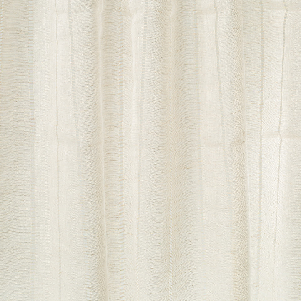 Patterned Sheers Stepalito Fabric - Whitewash