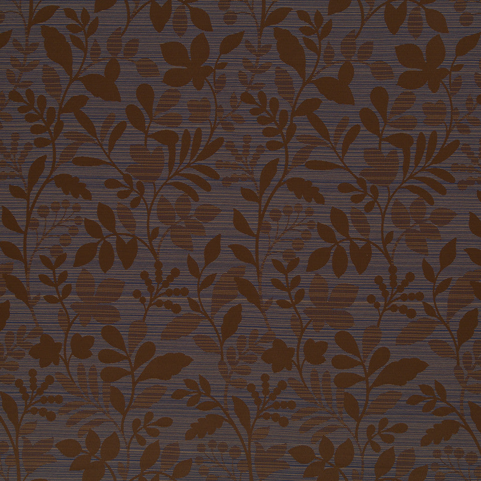 Copper-Stone-Ink Checkerberry Fabric - Espresso