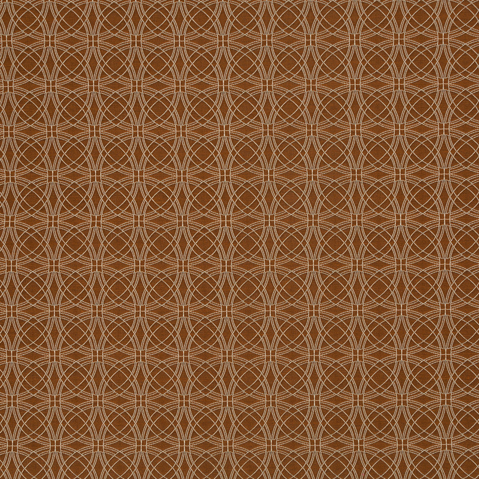 Copper-Stone-Ink Cogsworth Fabric - Copper