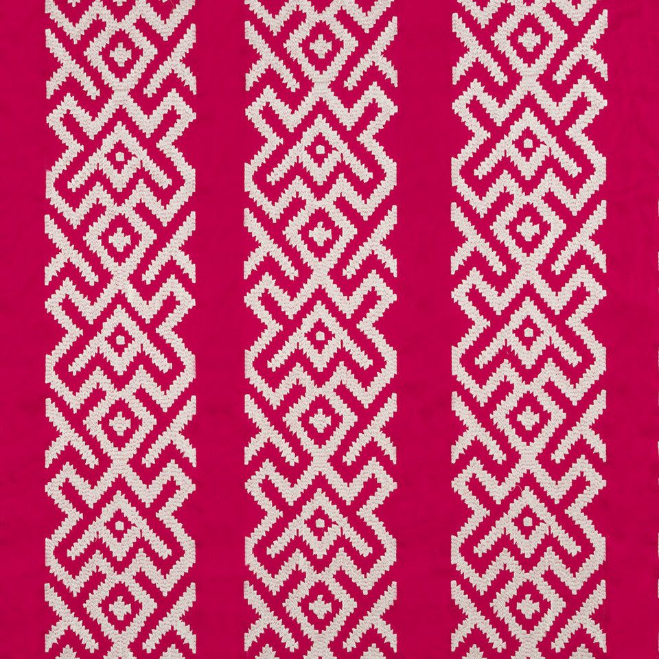 Henna-Cassis-Beet Niko Key Fabric - Cassis