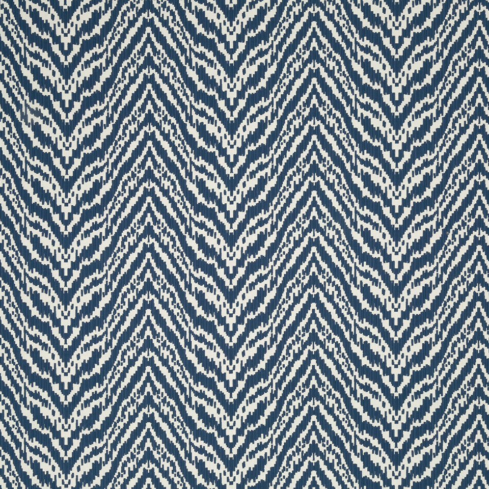 MADCAP COTTAGE INTO THE GARDEN Lady Mendl Bk Fabric - Indigo