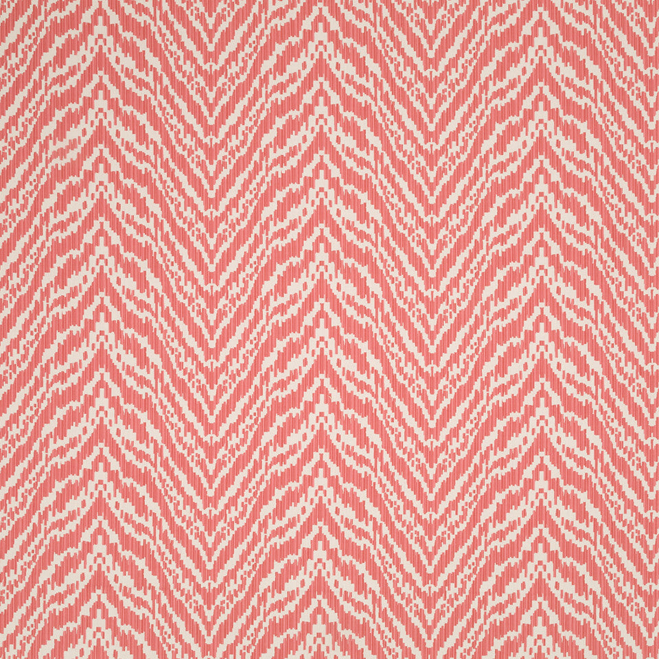 MADCAP COTTAGE INTO THE GARDEN Lady Mendl Bk Fabric - Rhubarb