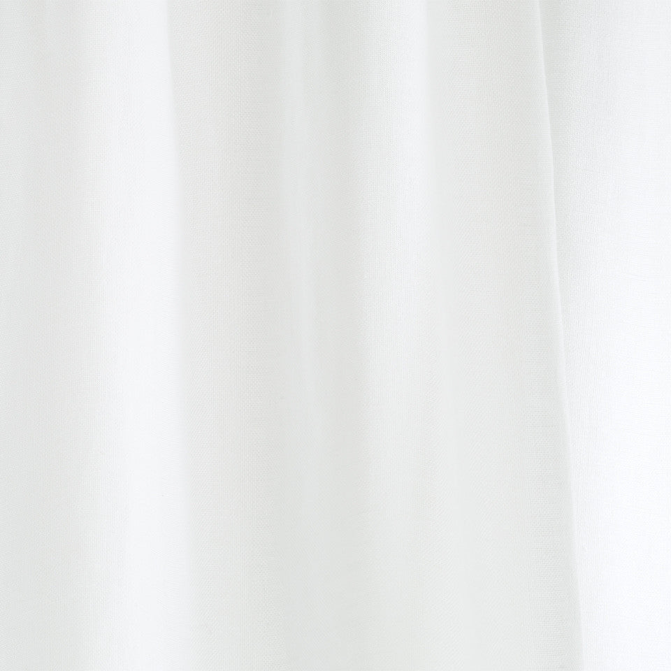 Matte Sheers Hemp Sheer Fabric - Glacier
