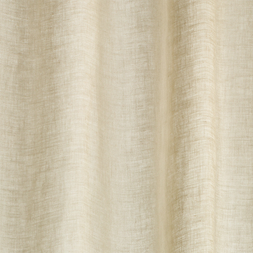 Matte Sheers Hemp Sheer Fabric - Grain