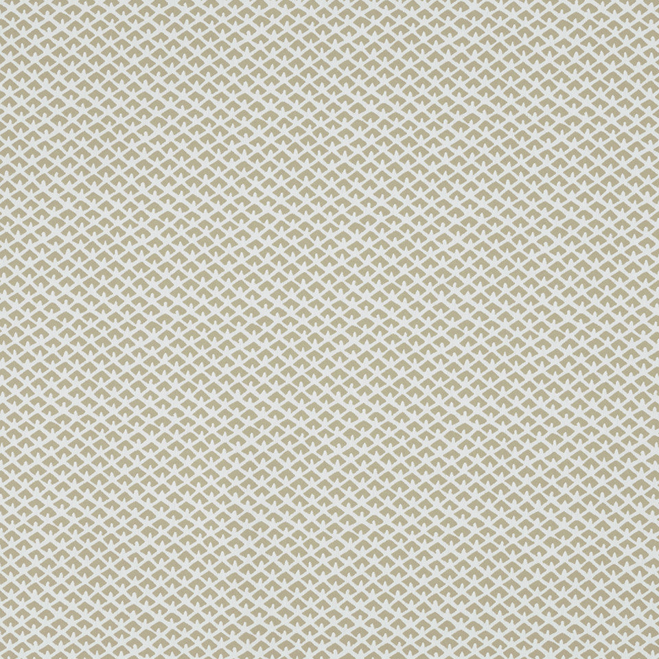 MADCAP COTTAGE INTO THE GARDEN Gem Palace Bk Fabric - Sandstone