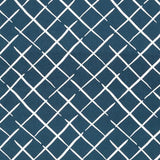 Madcap Cottage Cove End Fabric- Indigo Blue