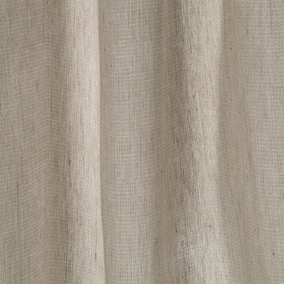 Lustrous Sheers Muted Metal Fabric - Driftwood
