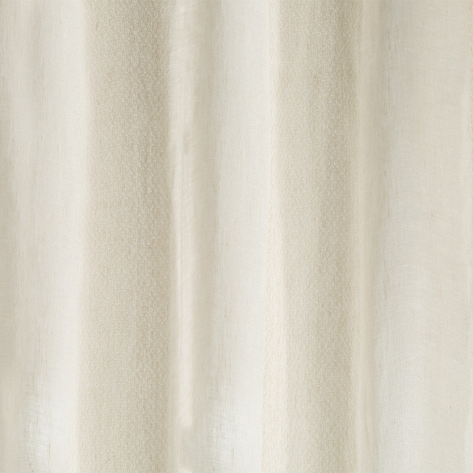 Patterned Sheers Delimitation Fabric - Whitewash