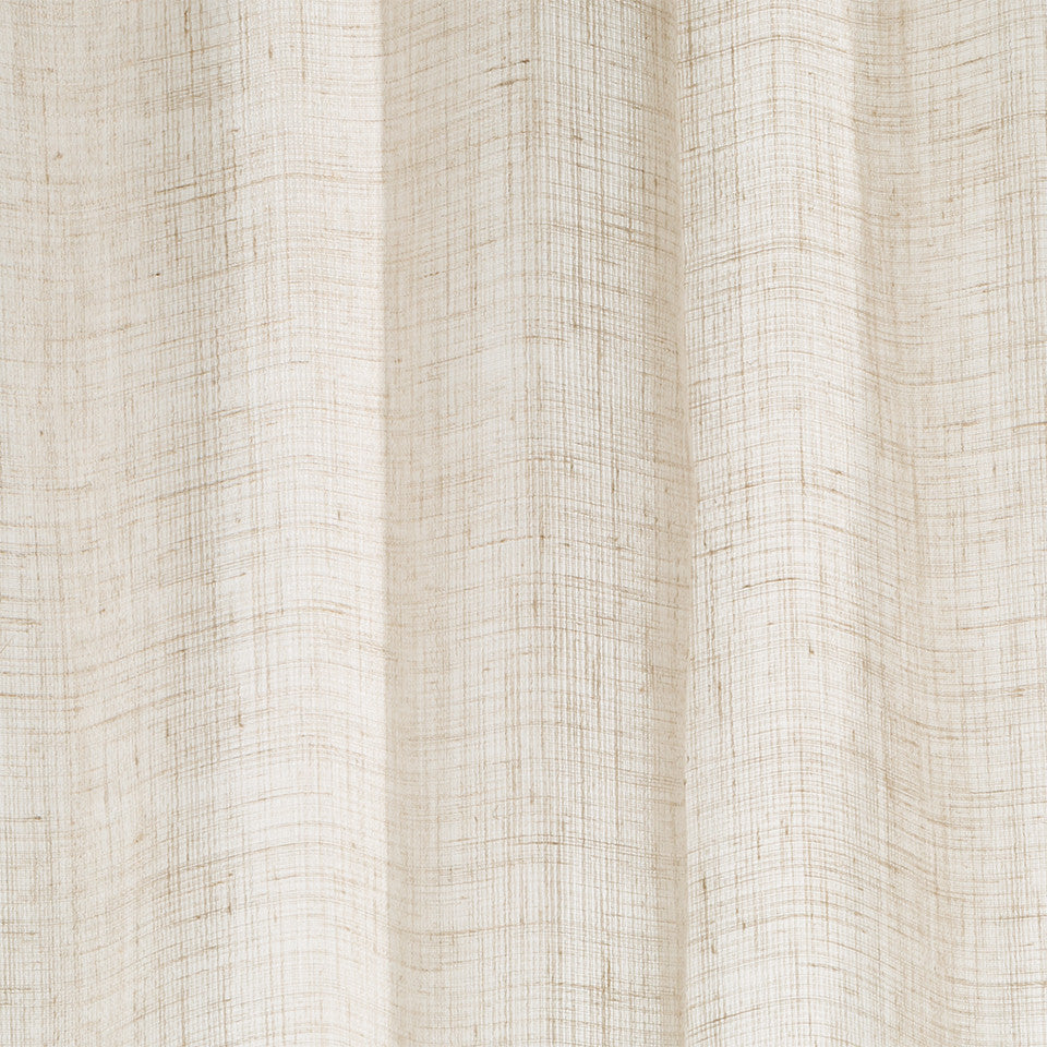 Matte Sheers Marled Leno Fabric - Driftwood