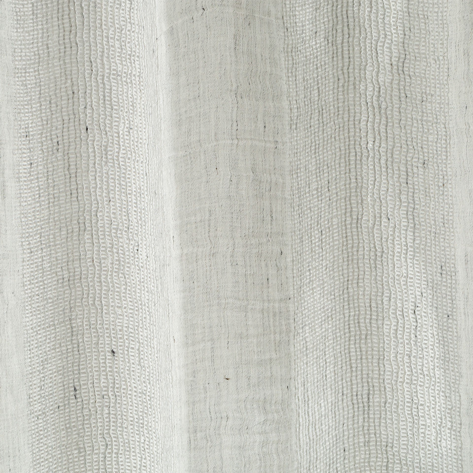 Patterned Sheers Lino Way Fabric - Zinc