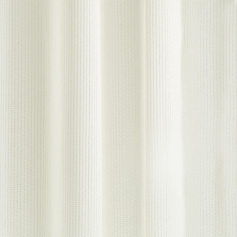 Matte Sheers String Theory Fabric - Glacier