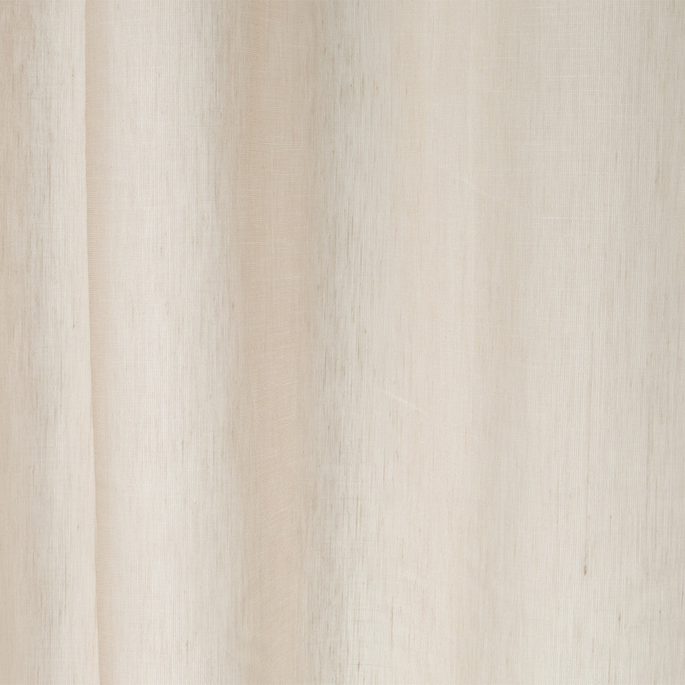 Matte Sheers Idle Linen Fabric - Grain