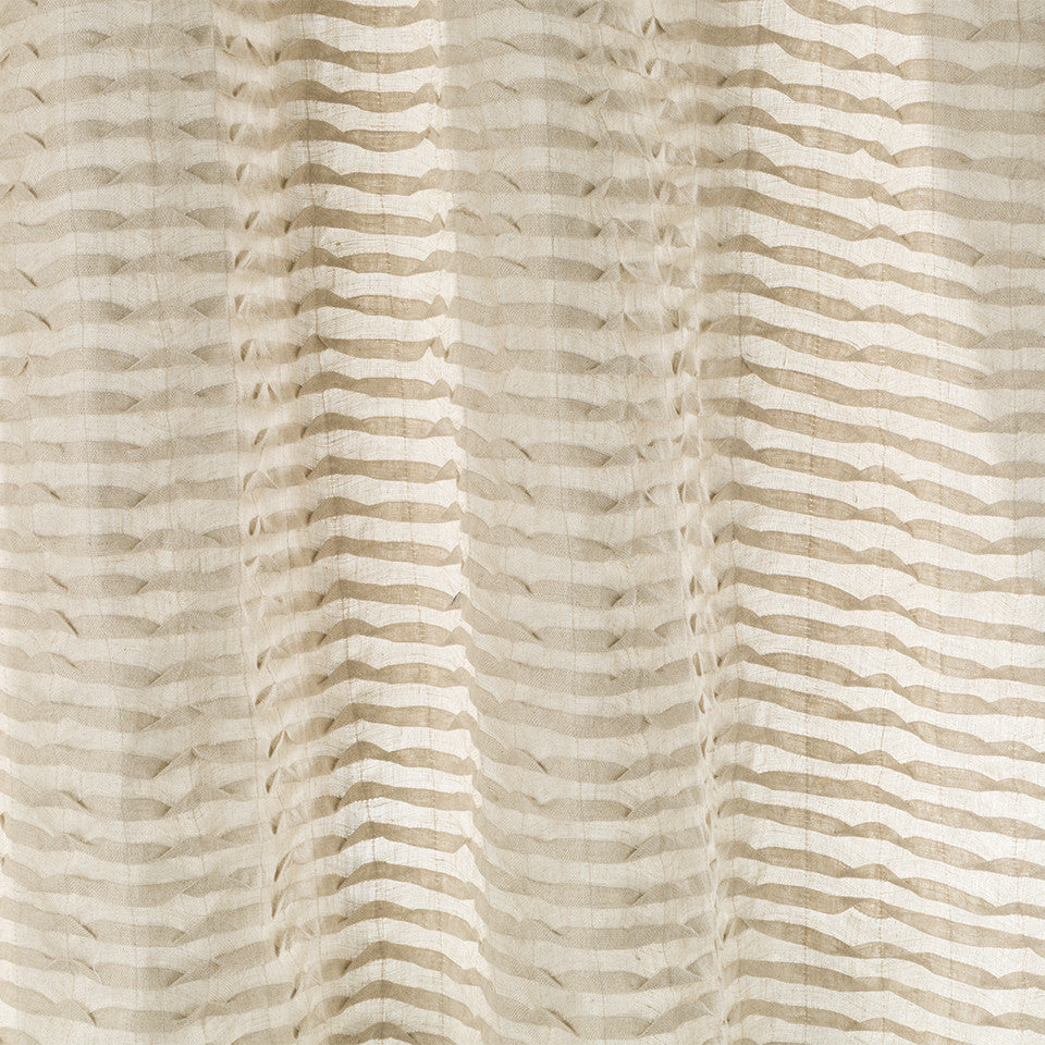 Patterned Sheers Flipjack Fabric - Driftwood
