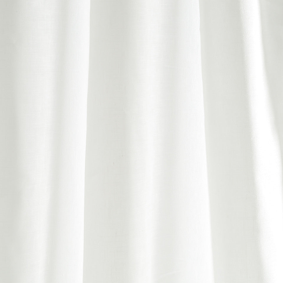 Matte Sheers Idle Linen Fabric - Pearl